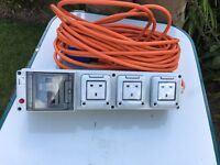 Deluxe Mobile Mains Unit