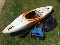 Teksport Excess 240 Kayak and Kit for sale