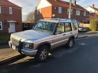 Land Rover Discovery 2 TD5 Silver face lift