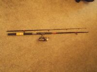 2x sea fishing rods and reels see description