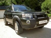 LAND ROVER FREELANDER 2006 AUTOMATIC VERY LOW MILEAGE