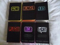 Teen Sci-Fi/Horrer Series 'Gone' by Michael Grant - All 6 Books