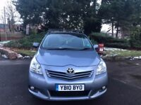 TOYOTA COROLLA VERSO DIESEL, 10 REG, 97K MILES, 1 YEAR MOT, MINT, DELIVERY AVAILABLE, VGC