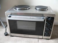 MORPHY RICHARDS ELECTRIC TABLE TOP OVEN & HOB