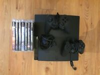PS3 320Gb and 10 Games