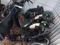 Piaggio zip 50cc project + x2 yamaha neos projects