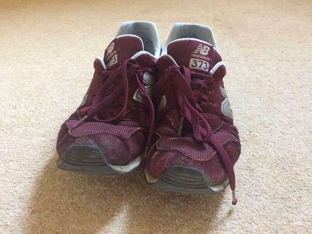 big sale 5f4f7 96c99 New Balance 373 mens trainers burgundy Size 10 | in Clifton Village,  Bristol | Gumtree