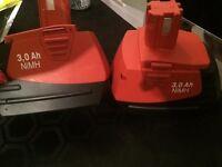 drill batterys