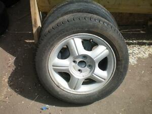 2 Honda Aluminum Rims * 15 Inch / 4 Bolt / 4 Inch * $60.00 for 2 .