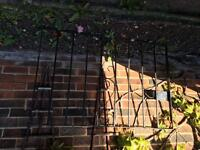 Pair of driveway wrought iron gates
