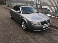 Audi A4 Cabriolet 1.8T Sports , Grab a Bargain, SERVICE HISTORY, Huge Spec & Cheapest!