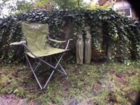 Camping chairs 3x