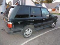Range Rover 4lt Petrol/Gas