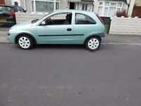 corsa 1.2 three doors