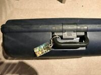 Carlton suitcase in very good condition, lockable with good wheels