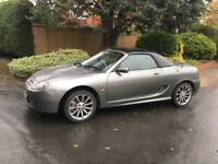 MG TF Spark 135 Convertible + hardtop - spaecial edition -very low milage - may part exchange