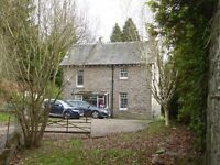 2 Bedroom country house, in the grounds of Methven Castle, Perth with private garden and GSH