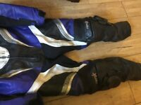RST leather Motorcycling suit size 46