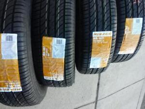 BRAND NEW WITH LABELS HIGH PERFORMANCE  H  RATED  MIRAGE  ALL SEASON  TIRE 205 / 65 /  16 SET OF FOUR