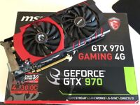 MSI Nvidia Geforce GTX 970 4Gig Graphics Card