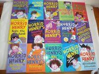 CHILDREN'S BOOKS - 15 HORRID HENRY BOOKS BY FRANCESCA SIMON