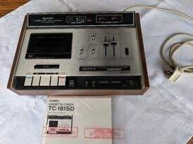 Vintage 1950's Sony Cassette Deck | Dolby System | Immaculate Condition