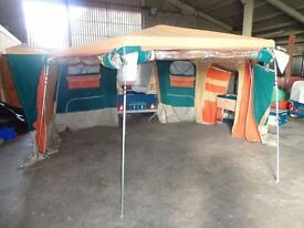 trailer tent raclet cortina model.