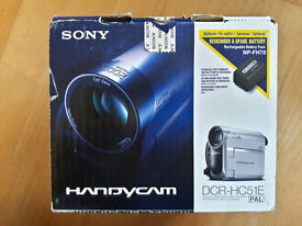 Sony Handycam DCR-HC51E Camcorder Touch Screen LCD