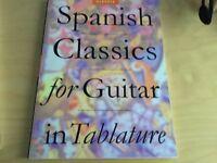3x Classical guitar books
