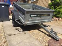 Daxara 147 trailer with cover for sale