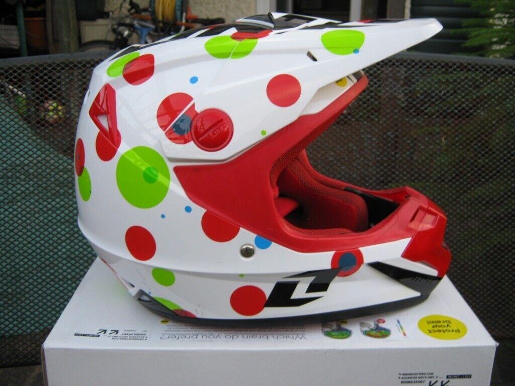 6106a293 One Industries Atom Youth Motocross BMX Crash Helmet | in Letchworth ...