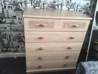 A BEAUTIFUL CHEST Of DRAWERS