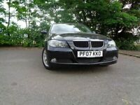 07 BMW 318 I SE TOURING 2.0 ESTATE,MOT MAY 022,3 OWNERS,2 KEYS,PART-HISTORY,VERY RELIABLE