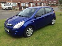 HYUNDAY I20 PETROL 5 DOORS ONLY 34000 MILES 1 LADY OWNER FROM NEW FSH MOT- 04/10/2017