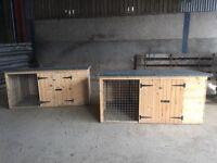 2 x Dog Kennels
