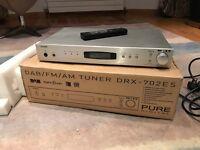 Pure Digital DAB Radio DRX - 702ES - Silver