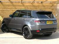 Land Rover Range Rover Sport 3.0 SDV6 HSE Dynamic 5dr Auto FULL SPECIFICATION (grey) 2014