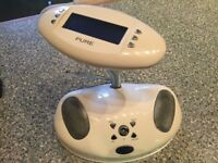 Pure Bug Dab Radio - white