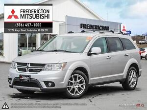 2013 Dodge Journey R/T! LEATHER! SUNROOF! NAV! DVD!
