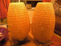 2 X USED IKEA ROJAN TABLE LAMPS IN EXCELLANT CONDITION