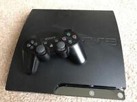 PS3 Slim + 14 games - BUNDLE MUST GO!