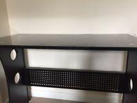Black Glass Topped Desk!