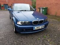Nice looking and driving BMW Coupe. MOT'd until end of May '17. Quick Sale.