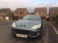 Peugeot 407 SW 1.6 HDI onli 90996 miles 12 months M.O.T