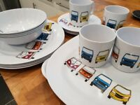 VW Camping Dishes