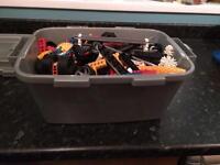 Box full of k'nex