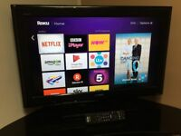 "SONY 32"" FHD 1080P LED SMART TV - 100Hz - 4 HDMI - 2 USB - HyperReal Engine - BARGAIN RRP £489"