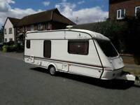 1995 elddis thyphoon gtx 4 berth touring caravan excellent condition.