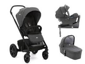 Brand new Joie Chrome DLX Travel system pushchair