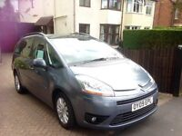 Citreon C4 Grand Picasso VTR+ HDI. 85,200 miles. 7 Seater. Full Service History. MOT March 2017.